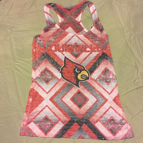 NCAA Womens Sublimated Burnout Tank Top